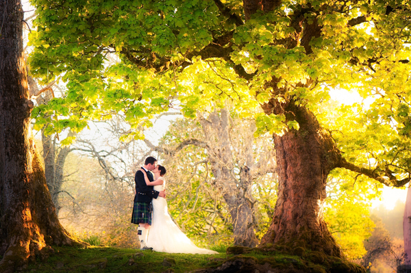 Derek Christie, wedding photography at Aswanley