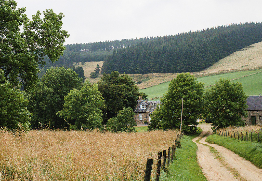 Scottish holiday cottages: Wester Park, Aberdeenshire