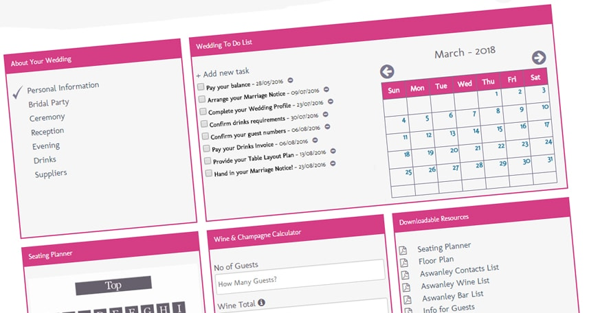 The Wedding Planner Allows S To All Information About Their In One Place Adding As They Make Decisions Accessing It