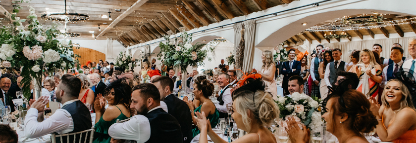 Speeches in the dining room by Emma Lawson Photography